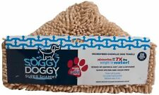 Soggy Doggy Super Shammy  Beige One Size 31-inch x 14-inch Microfiber Chenille D