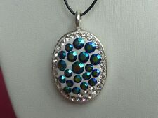 Handcrafted Crystal Necklace/Pendant made with Swarovski Crystal Elements