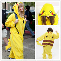 Pokemon Pikachu Japan Anime Costume Animal Cosplay Kigurumi Pajamas Onesie