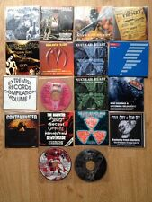 18 Promo Comp CDs Festival CDs Death Black Extreme Metal All New Relapse Earache