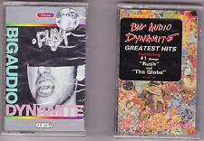 LOT OF 2 Big Audio Dynamite (f-punk / planet [bad] greatest hits) Cassettes NEW
