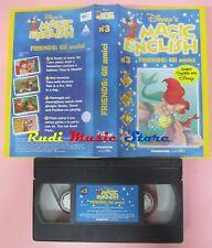film VHS MAGIC ENGLISH DISNEY'S gli amici Friends VOL. 3 (F14**) no dvd