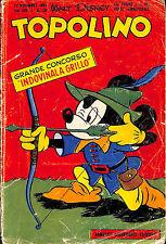 [066] TOPOLINO ed. Mondadori 1956 n.  150 stato Buono