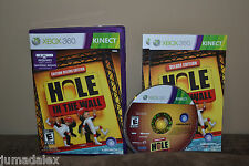EEUC XBOX 360 Kinect Game Hole In The Wall Deluxe Edition Rated E SUPER FUN!!