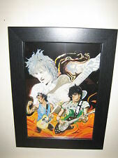 Bargain Ronnie Wood Rolling Stones  Stunning 'Black Limo' -  'Famous Flames'
