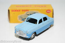 DINKY TOYS 162 FORD ZEPHYR SALOON TWO TONE BLUE VERY NEAR MINT BOXED