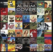 RICHARD EVANS - The Art of the Album Cover - Hardcover Book History / How To