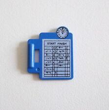 PLAYMOBIL (S125) RACING - Tablette Bleue de Chronométrage pour Manager 3603 3738