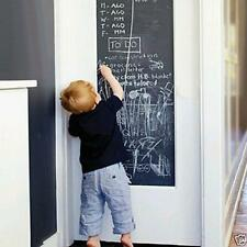 Hot Vinyl Chalkboard Wall Sticker Removable Blackboard Decals 200X45CM Black FI