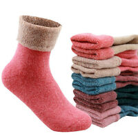 NEW Womens Sheep Cotton Winter Thick Knit Warm Causal Lady Socks High Quality