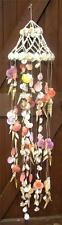 127cm GIANT HEAVY GENUINE MULTI SEA SHELL WINDCHIME MOBILE Wind Chimes Chime