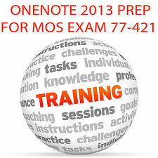Onenote 2013 pour mos certification exam 77-421 - video training tutorial dvd