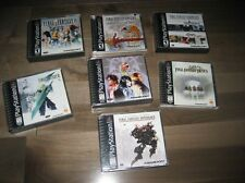 Playstation Final Fantasy Games VII Origins Tactics VII IX Anthology Chronicles