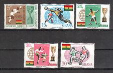 Ghana Michelnummer 269 - 273 A postfrisch ( Übersee : 715 )