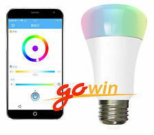 RGB LED Wireless WIFI Control Smart Light Bulb 220V 7W E27