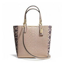 Coach Bag F28173 MADISON PYTHON EMBOSSED NORTH/SOUTH TOTE Agsbeagle #COD Paypal