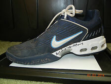 JOHN MCENROE MATCH WORN AUTO NIKE AIR MAX TENNIS SHOE