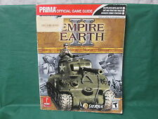 Empire Earth II Prima Official Game Guide Strategy Book for PC