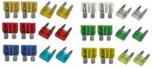 Car Blade Fuses Mini and Standard Fuses 5 10 15 20 25 30 AMP 2 of each Vauxhall
