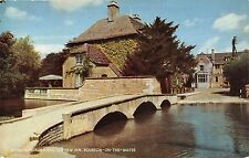 BR66768 bourton on the water river windrush  uk  14x9cm