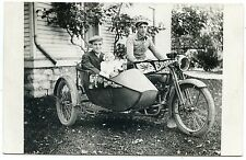"""RPPC Motorcycle """"Harley Davidson"""" with Side Car Tipperary and England Banners"""