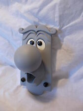 ALICE IN WONDERLAND DOOR KNOB WALL HANGING CHARACTER PROP GREY
