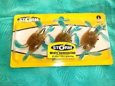 "NEW STORM 3"" 1/2oz WILDEYE LIVE SWIMMING BLUE CRAB SALTWATER FISHING LURE BAIT"