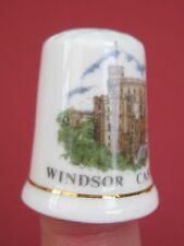 Vintage thimble Windsor Castle,Bone China British made