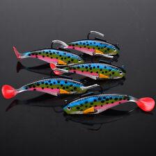 Proberos Soft Plastic Lures Fishing Lure Bait Tackle 10cm-25g/piece 5pcs/Lot