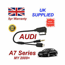 AUDI A7 Series cable For Samsung Galaxy S2 S3 S4 S5 Micro USB & AUX 3.5mm Cable