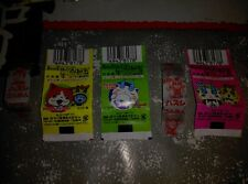 YOUKAI WATCH YOKAI YO KAI  ENVOLTORIOS DE CHICLETS CHICLES BUBBLEGUM BUBBLE GUM