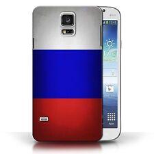 Stuff4 Hülle/Case für Samsung Galaxy S5/SV/Russland/Russische/Flagge
