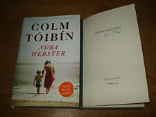 Nora Webster ByTóibín, Colm,EXCLUSIVE SIGNED EDITION,FIRST EDITION,2014,HARDBACK