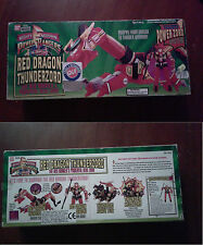 Power Rangers - Red Dragon Thunderzord 2225 NUOVO NEW