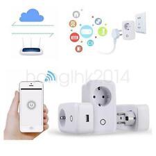 WiFi Wireless Remote Control Timer Switch Smart Power Socket Outlet EU Plug BN