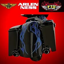 Arlen Ness Tail Fender Kit Dual Exhaust w/o License Plate 97-08 HD FLT 06-478