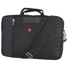 "Swiss Gear Wenger 17.3"" Laptop Case Business bag NWT Black SWG0102"