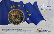 2 Euro commémorative des Pays-Bas 2015 Brillant Universel (BU) -Drapeau Eurppéen