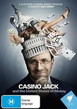 Casino Jack & The United States Of Money (DVD, 2011) NEW & SEALED, FREE POST