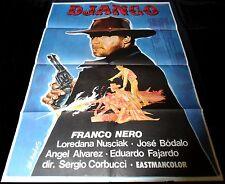 1966 Django ORIGINAL SPAIN POSTER Franco Nero Spaghetti Western Sergio Corbucci