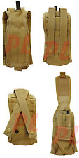 Molle Pals Radio Pouch Walkie Talkie Radio Antenna Carrier Pouch L or R-TAN