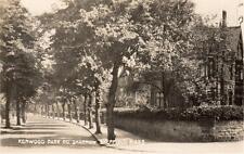 Kenwood Park Road Sharrow Sheffield unused RP pc Sneath N433