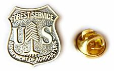 US Forest Service USDA Department of Agriculture Ranger Hat Jacket Tie Lapel Pin