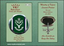 Royale Car Grill Badge - THE QUEEN'S OWN HIGHLANDERS - B2.3486