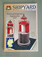 Lighthouse Vierendehlgrund In Germany Cut Out Paper Model Kit Scale 1:87 HO