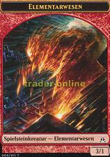 2x Spielstein - Elementarwesen (Token - Elemental) Oath of the Gatewatch Magic