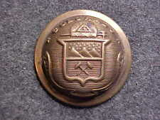 RARE COLORADO BRASS STATE SEAL MILITIA 7/8 DOMED BUTTON MARKED CIRCLE OF STARS