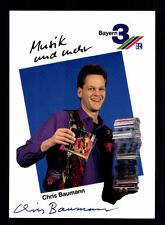 Chris Baumann Bayern 3 Autogrammkarte Original Signiert # BC 59075