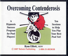 Overcoming Contenderosis CD set - POOL HYPNOSIS - 10 POWERFUL SESSIONS!