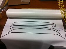 68 69 70 Plymouth GTX Road Runner Headliner Bow Set of 6  -NEW!